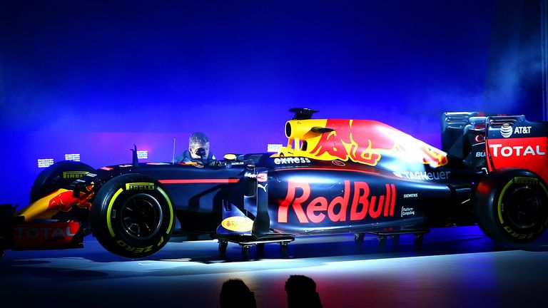 f1 new car releaseRed Bull launch new look for 2016 with revised car livery  F1 News