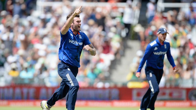 Reece Topley is out for three months with a back injury