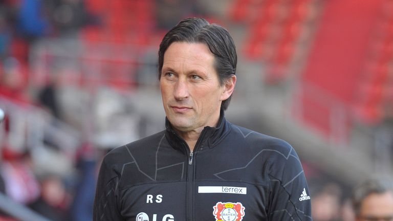 bayer leverkusen coach roger schmidt banned for five games football news sky sports. Black Bedroom Furniture Sets. Home Design Ideas
