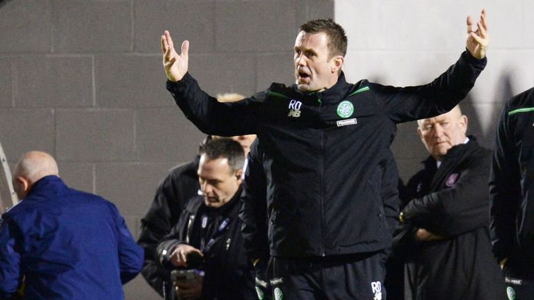 Ronny Deila believes Celtic missed too many good chances at Hamilton