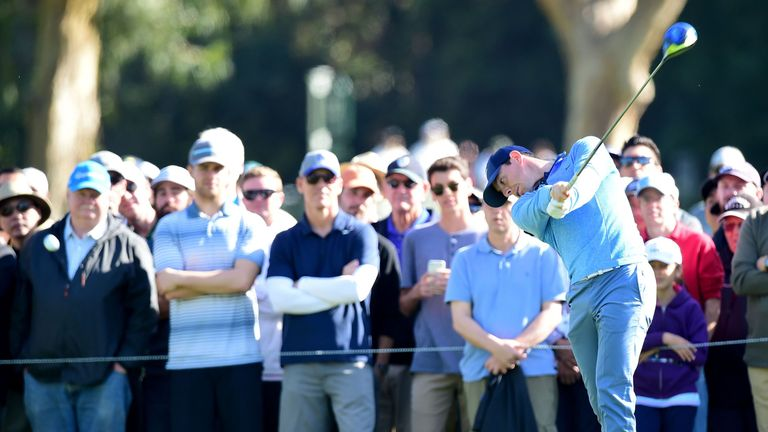 Rory McIlroy admitted he needs to be more accurate off the tee