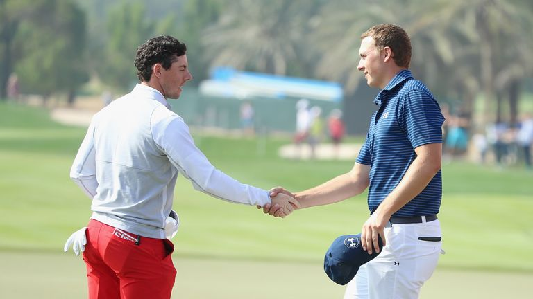 McIlroy and Spieth are both in action this week having gone head to head in Abu Dhabi last month