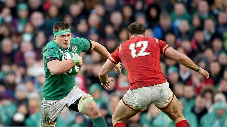 CJ Stander starred on his Ireland debut against Wales