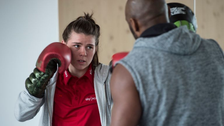 Marshall was supported on the Sky Academy Sports Scholarship scheme since London 2012