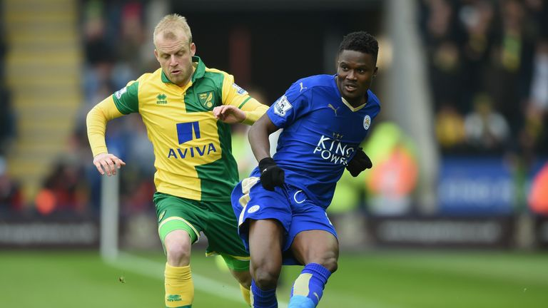 Daniel Amartey was a January addition for Leicester