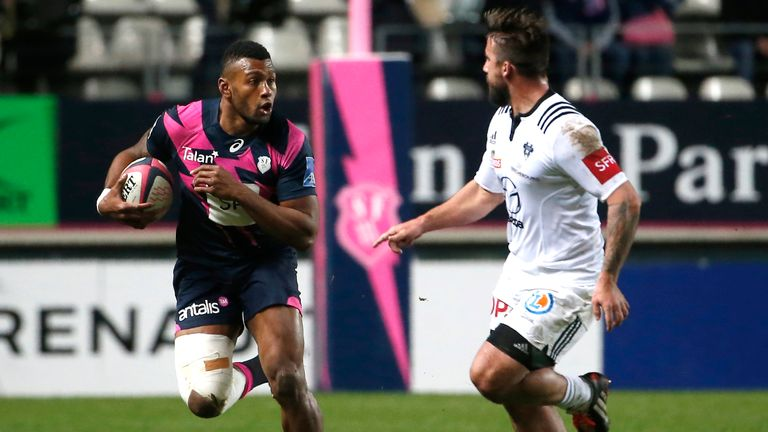 Waisea Nayacalevu was explosive with the ball for Stade Francais