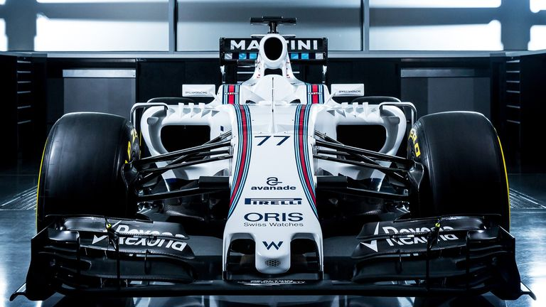 Williams Reveal Car The News