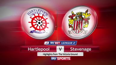 Hartlepool 1-2 Stevenage