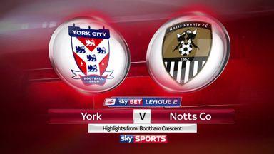 York 2-1 Notts County