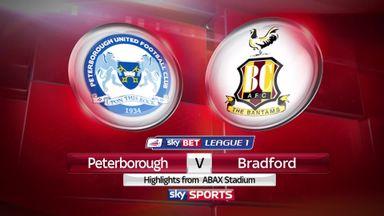 Peterborough 0-4 Bradford