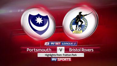 Portsmouth 3-1 Bristol Rovers