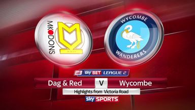Dag & Red 1-2 Wycombe