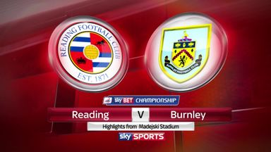 Reading 0-0 Burnley