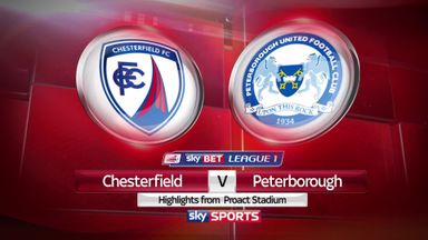 Chesterfield 0-1 Peterborough
