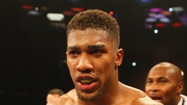 Anthony Joshua may be fighting for a world title on April 9