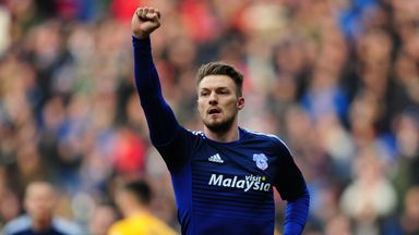 Anthony Pilkington could be a doubt for Cardiff's home game with Birmingham