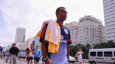 Ashley Cole has insisted he has moved to LA to win throphies