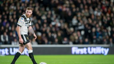 Hull FC's Marc Sneyd scored 12 points with the boot