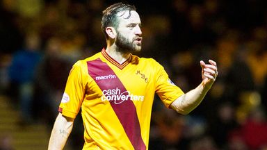James McFadden will stay at Motherwell until the end of the season