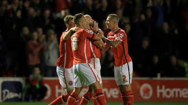 Walsall remain in the hunt for automatic promotion after victory over Fleetwood