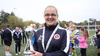 Kelly Chambers guided Reading to the FA WSL 2 title last year