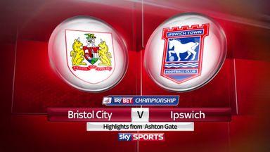 Bristol City 2-1 Ipswich