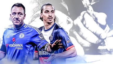 John Terry and Zlatan Ibrahimovic could be available on free transfers