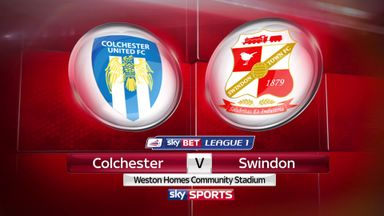 Colchester 1-4 Swindon