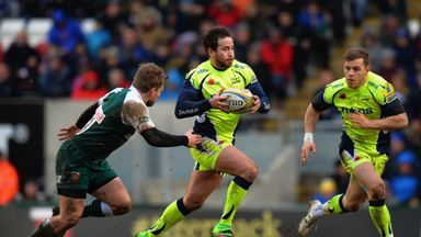 Danny Cipriani missed five kicks at goal but Sale still came out on top