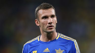 Andriy Shevchenko is the new head coach of Ukraine