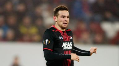 Vincent Janssen scored the winner for AZ Alkmaar against Vitesse