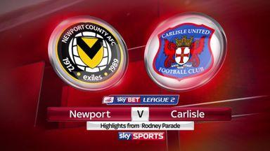 Newport 1-0 Carlisle