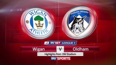 Wigan 0-0 Oldham