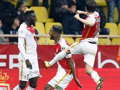 Monaco got the better of Nice in a hard-fought clash