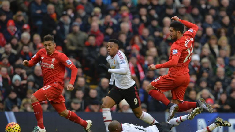Manchester United are on a run of four straight wins against Liverpool
