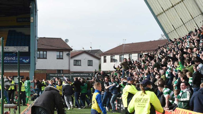 Pandemonium in the away end as they savour the late winner