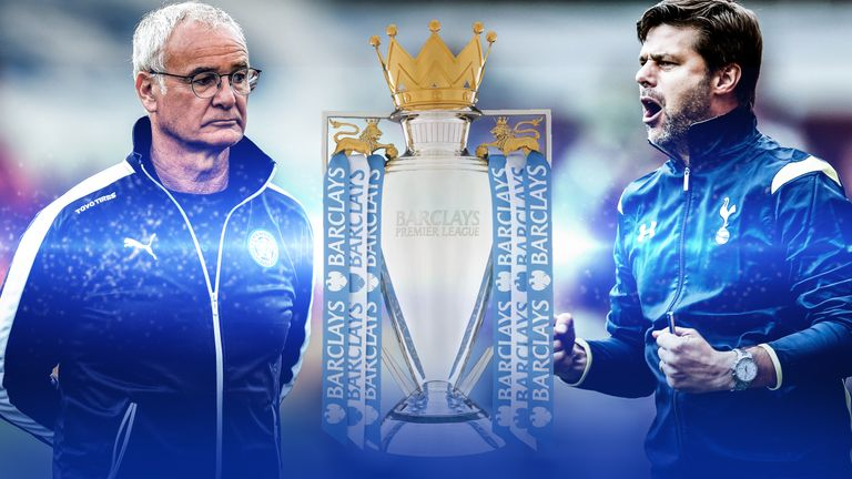 Leicester and Tottenham are set to go head-to-head for the Premier League title