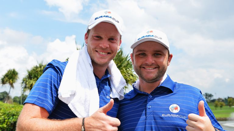 Danny Willett and Andy Sullivan will both make their Ryder Cup debuts this month