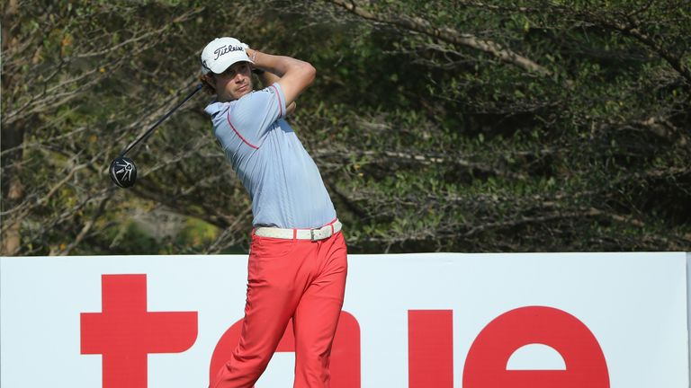 Peter Uihlein is Hend's closest challenger after the American returned a 69