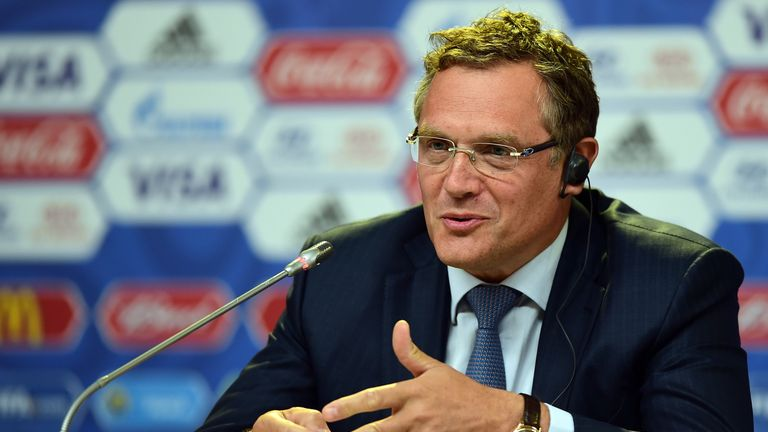 "Former FIFA secretary general Jerome Valcke has denied claims he received ""undue advantages"" from PSG president Nasser Al-Khelaifi"
