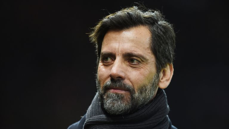 McCann is a big fan of Watford manager Quique Sanchez Flores and gave them a B for their performance on Saturday Night Football