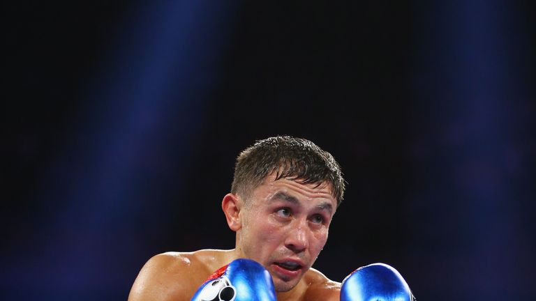 Gennady Golovkin holds the IBF and WBA Super versions of the middleweight title