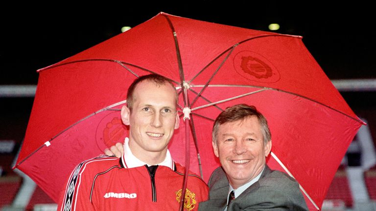 Sir Alex Ferguson brought Stam to Old Trafford but the pair later fell out
