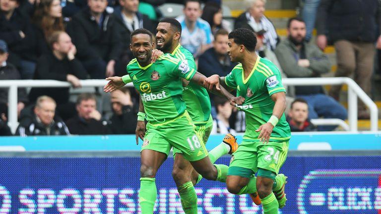 Jermain Defoe gave Sunderland the lead
