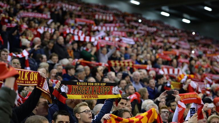 Klopp has called on Liverpool fans to outdo their Manchester United rivals