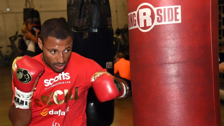 Kell Brook is expected to fight Jessie Vargas this summer