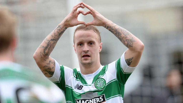 Leigh Griffiths netted Celtic's opener in their win at Firhill Stadium