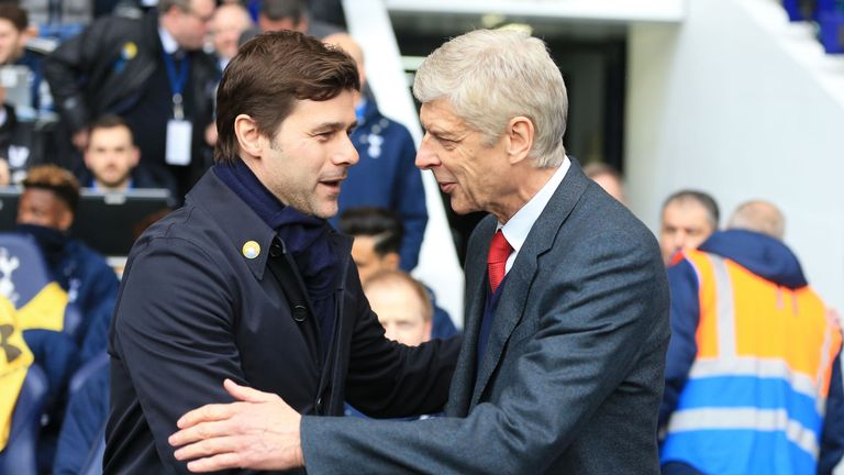 Mauricio Pochettino described Arsene Wenger as