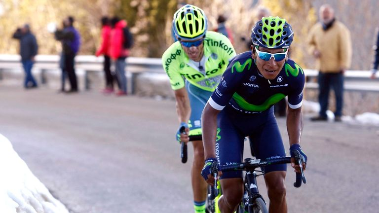 Nairo Quintana has enjoyed a strong season so far