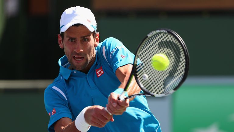 Novak Djokovic begins his title defence against Britain's Kyle Edmund